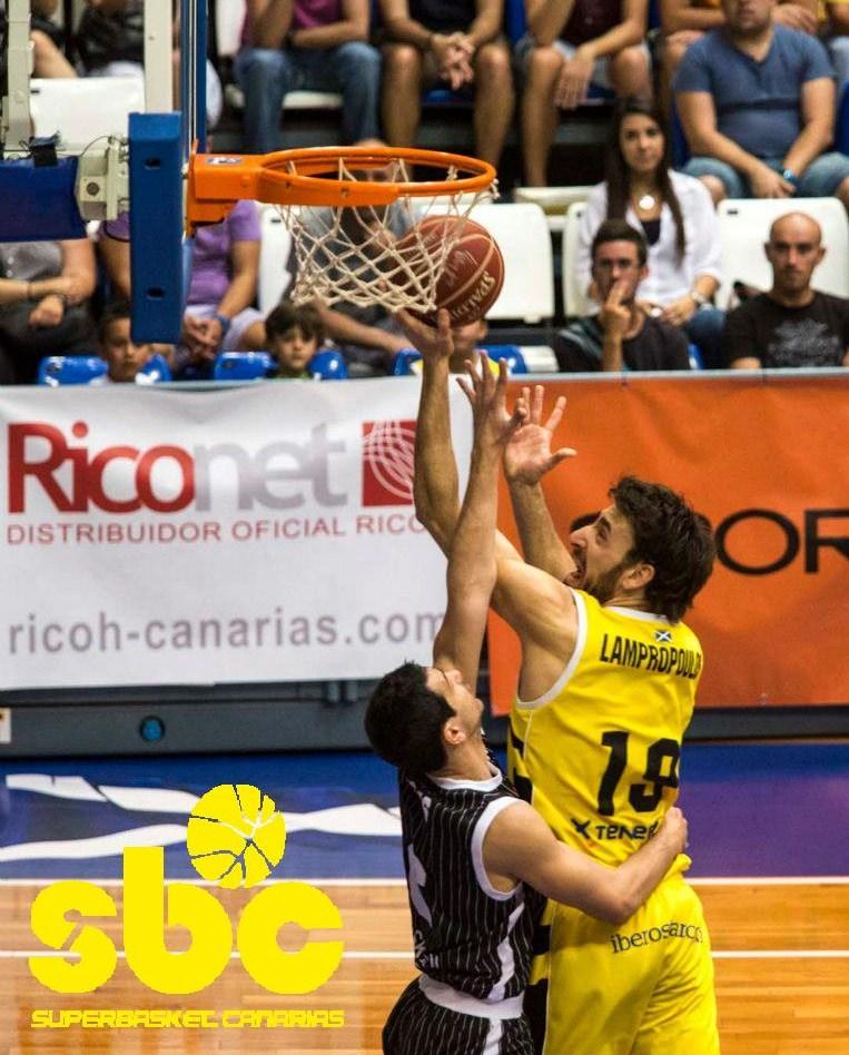 Fotis, en su etapa como jugador del Canarias