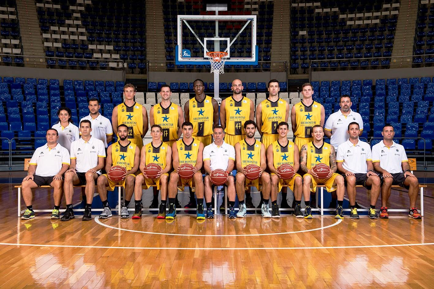 Foto oficial del Club Baloncesto Canarias 2015-16