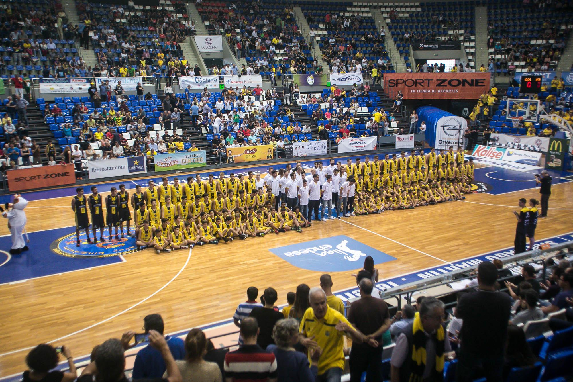 Equipos filiales del C. B. Canarias 2015-16