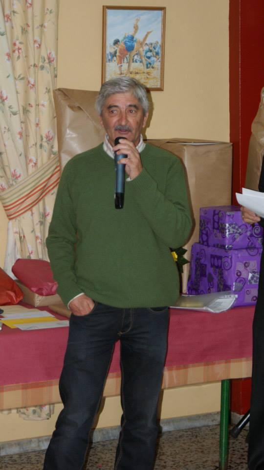 Jorge García, Presidente de la Peña San Benito