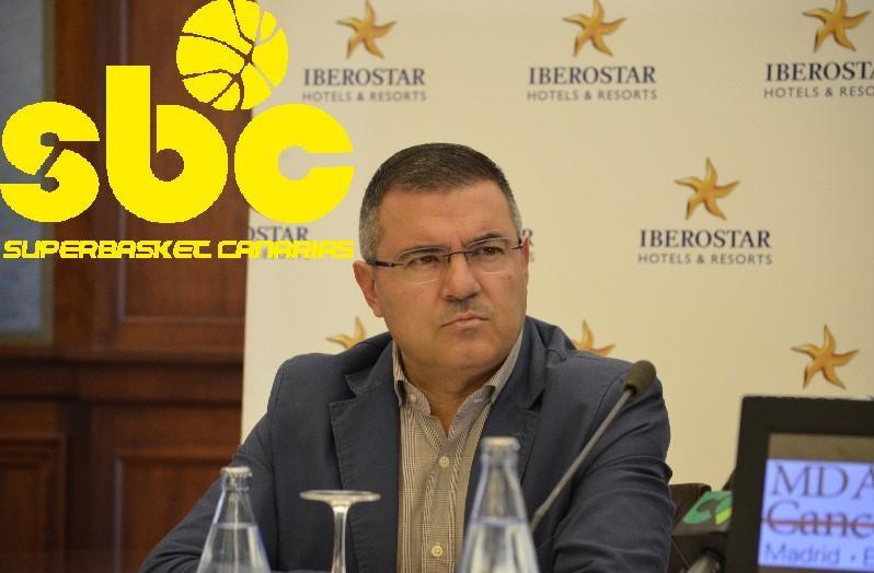 Félix Hernández, presidente del Club Baloncesto Canarias