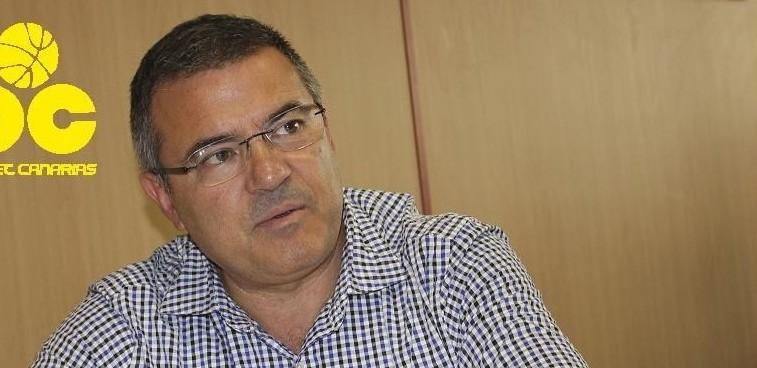 Félix Hernández, presidente del Club Baloncesto Canarias habló para SuperBasket Canarias