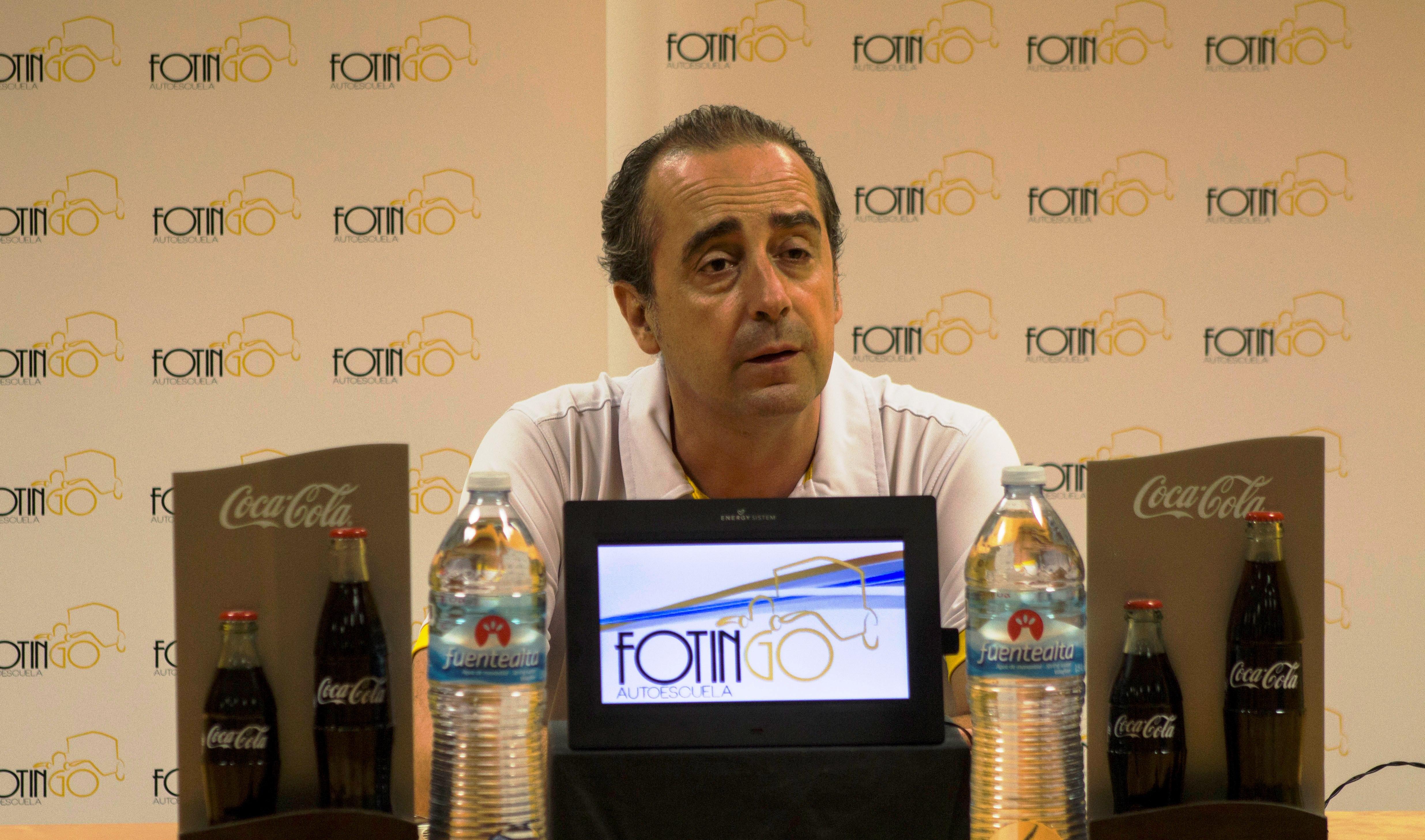 Vidorreta compareció en rueda de prensa antes de viajar a Sevilla