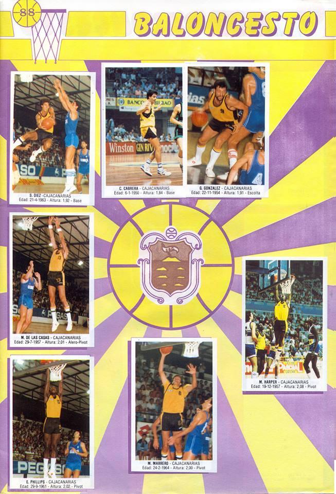 BALONCESTO 88. CAJACANARIAS. TEMPORADA 1987-88