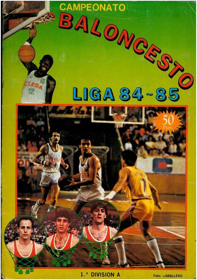 BALONCESTO LIGA 84-85