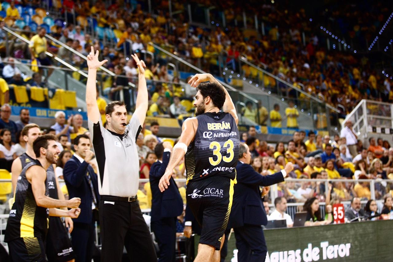 Javier Beirán estuvo inspiradísimo contra su ex equipo / ACB Photo. M. Henríquez