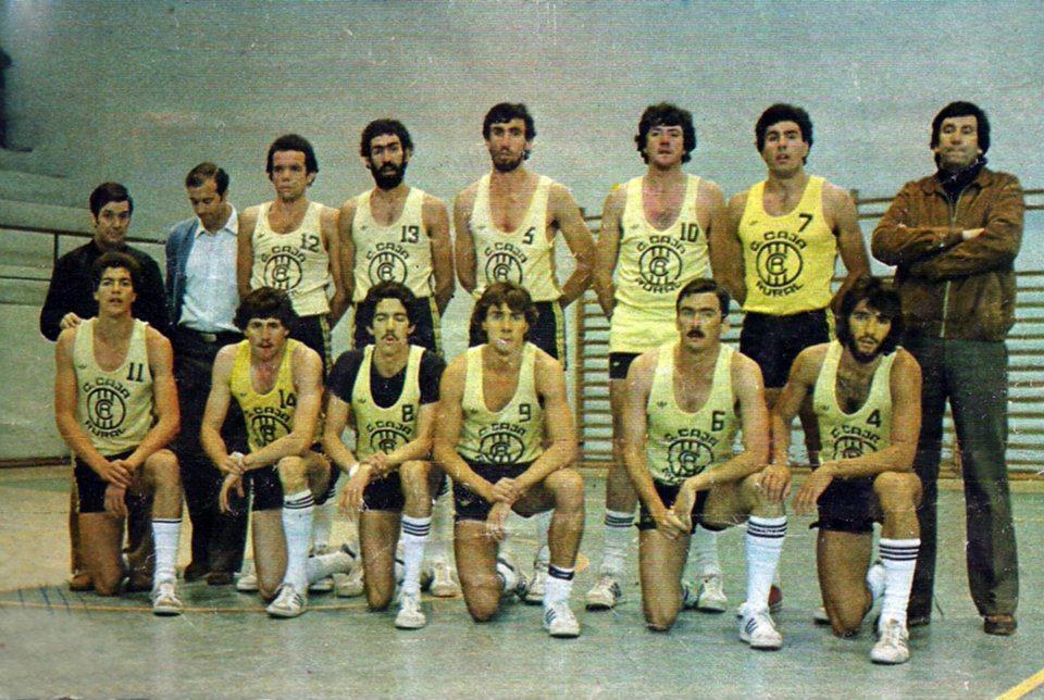 Pablo Casado en una formación del Canarias Caja Rural / Archivo SuperBasket Canarias
