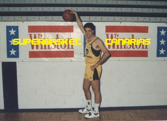 El legendario Carmelo Cabrera, máximo asistente de la historia del Club Baloncesto Canarias / Foto: Archivo José Luis Hernández