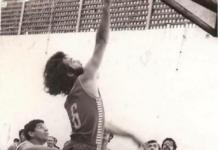 Imagen histórica de una Claret-Canarias, jugado en Las Palmas, en los años 70/Foto: Archivo José Luis Hernández