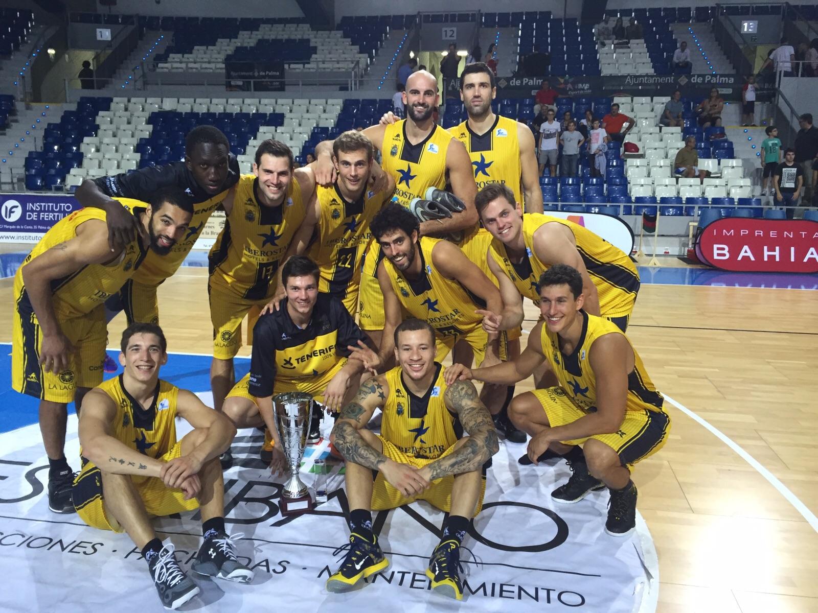 Club Baloncesto Canarias 2015-16, campeón del torneo Ciutat de Palma