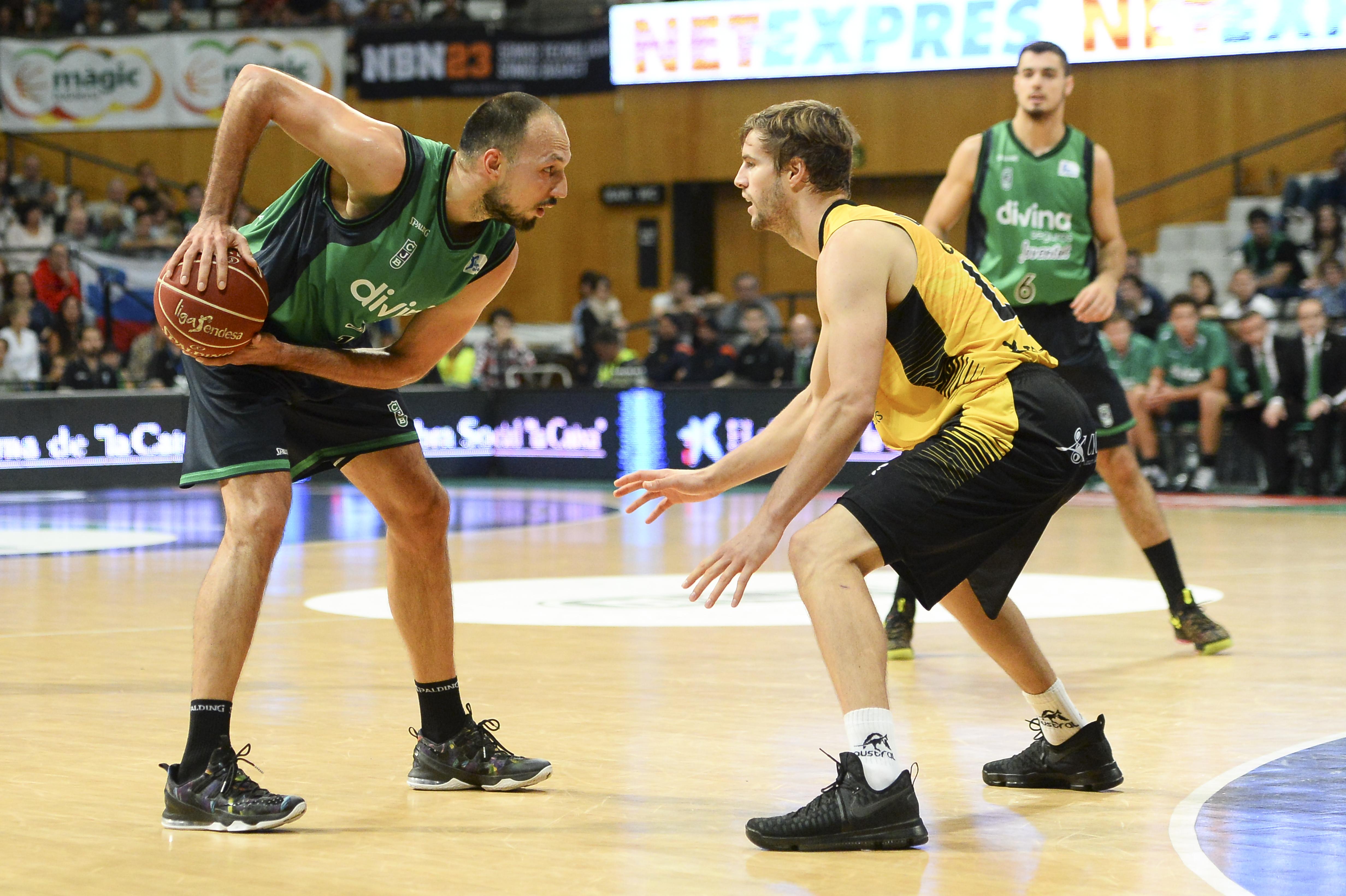 Aaron Doornekamp, estrella aurinegra en el día de hoy / ACB Photo D. Grau