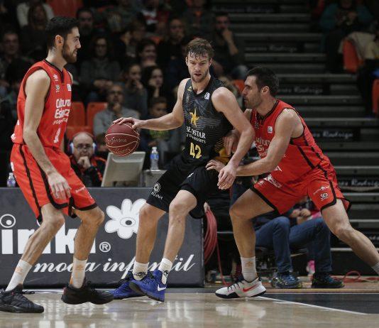 Doornekamp no estuvo afortunado en el día de hoy ACB Photo M. A. Polo