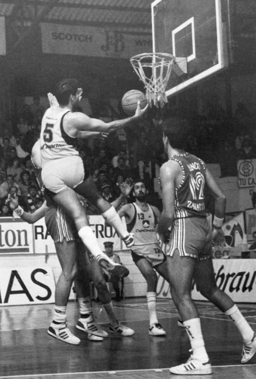 Salva Díez en su etapa como jugador canarista / SuperBasket Canarias-Archivo