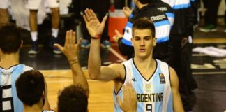 Nico Brussino, jugador de la seleccioón argentina